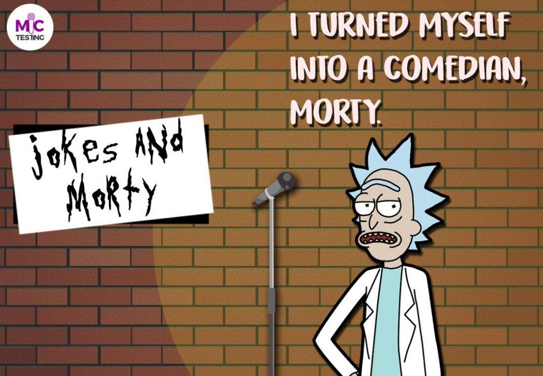 Jokes and Morty - Cafe khetlaapa