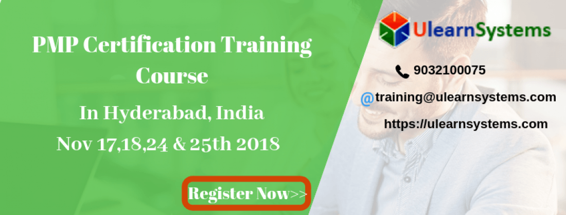 Pmp Certification Training Course In Hyderabadindia At U Learn