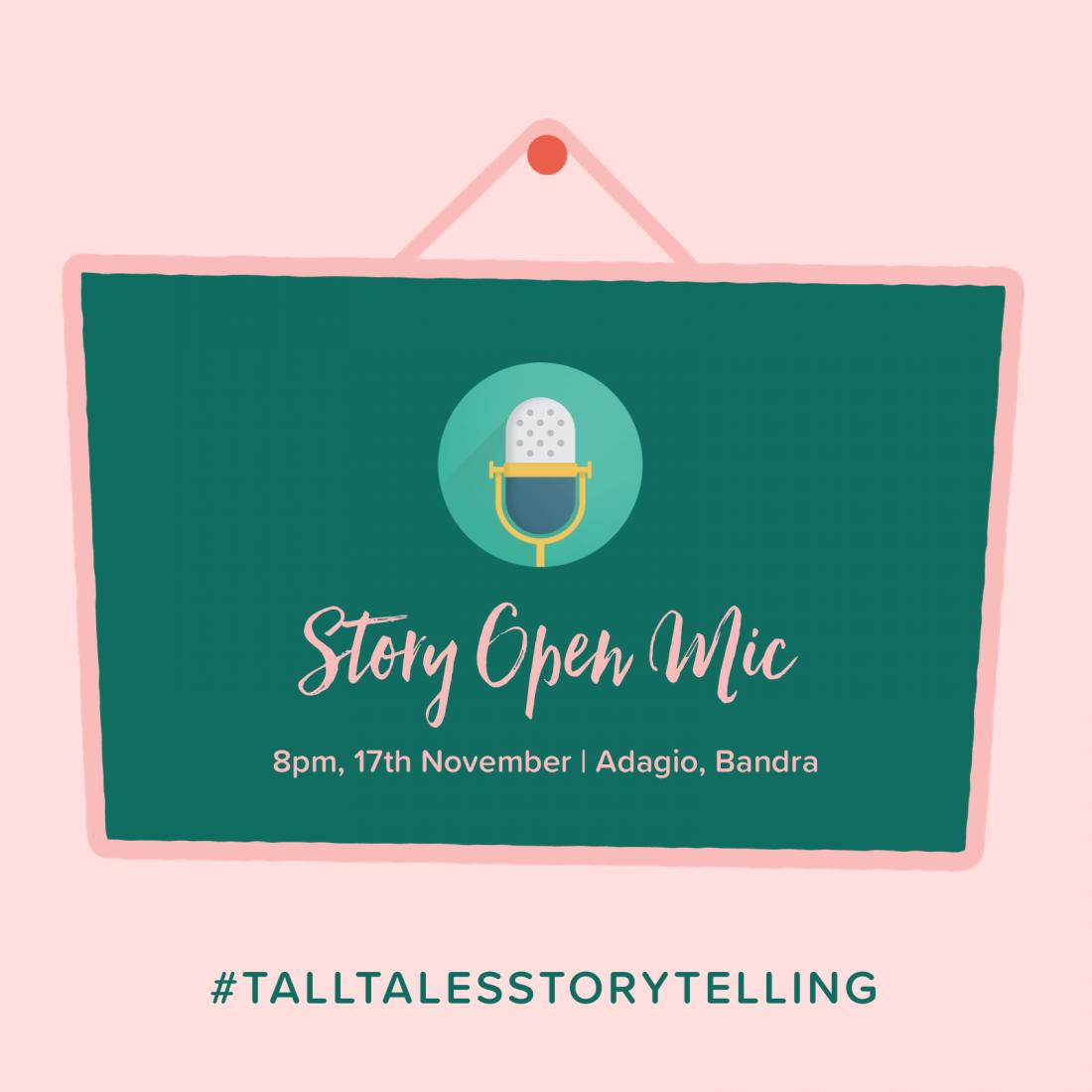 Tall Tales Story Open Mic