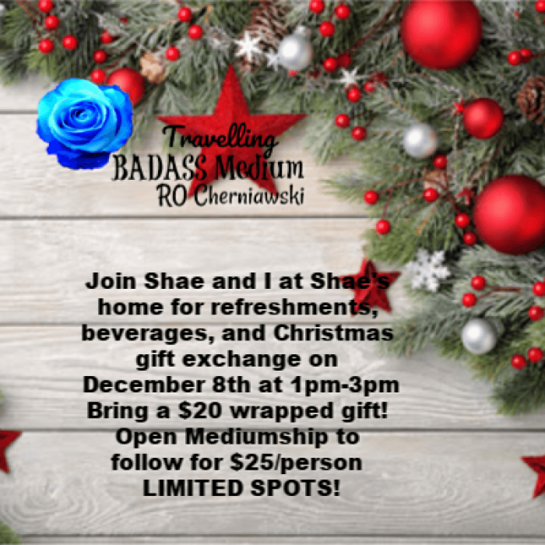 Christmas Gift Exchange and Open Mediumship with Shae and Ro