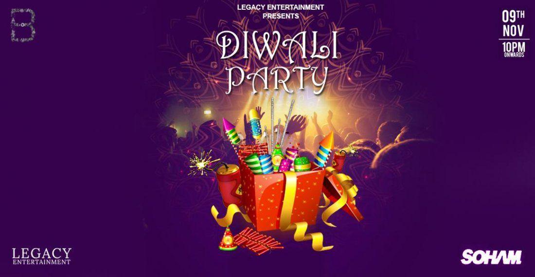 DIWALI PARTY  BOMBAY ADDA
