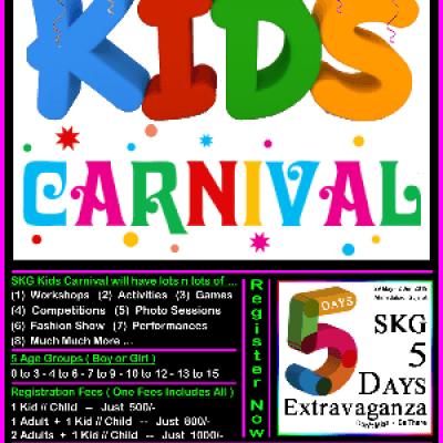 SKG Kids Carnival - Part of SKG 5 Days Extravaganza