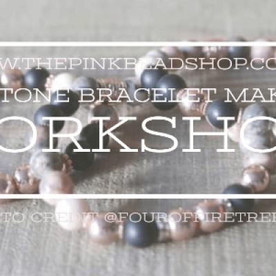 Intention Gemstone Bracelet Making