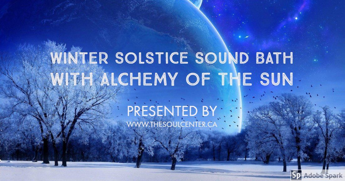 Winter Solstice Singing Bowl and Gong Sound Meditation