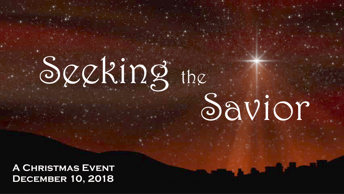 Seeking the Savior - A Word in Motion Ministries Christmas Event