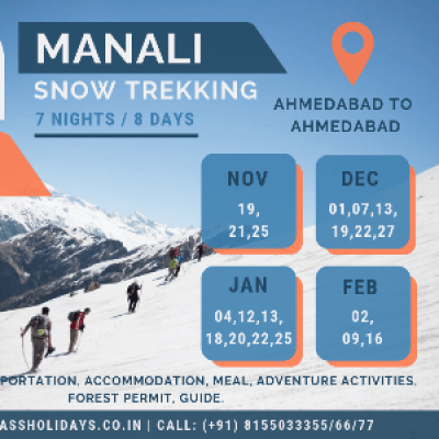 Manali Snow Trekking