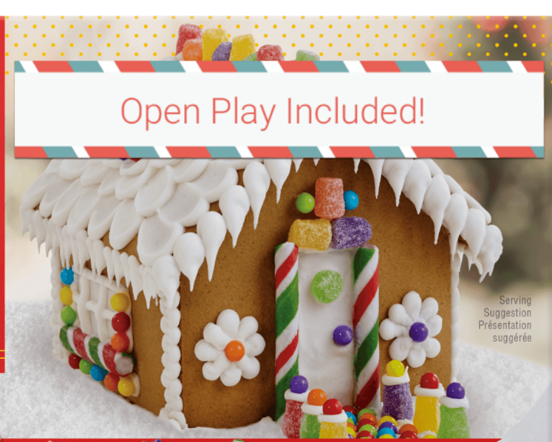 Gingerbread House Decorating and Open Play