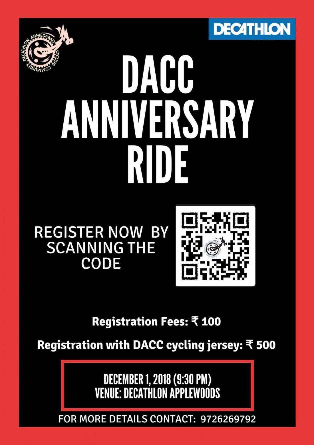 Dacc Anniversary Ride