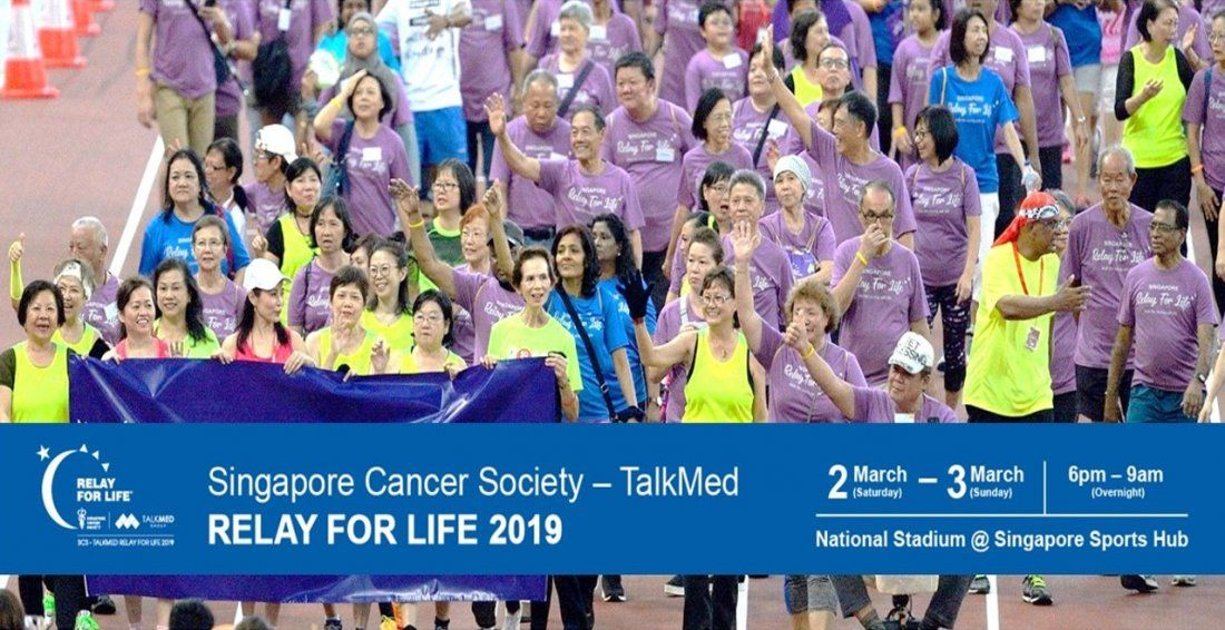 Singapore Cancer Society - TalkMed Relay For Life 2019
