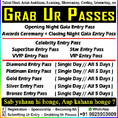 Grab Ur Passes - of - SKG 5 Days Extravaganza