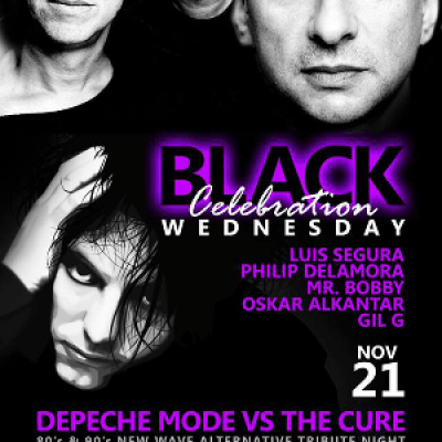 Black Wednesday tribute to Depeche Mode and The Cure