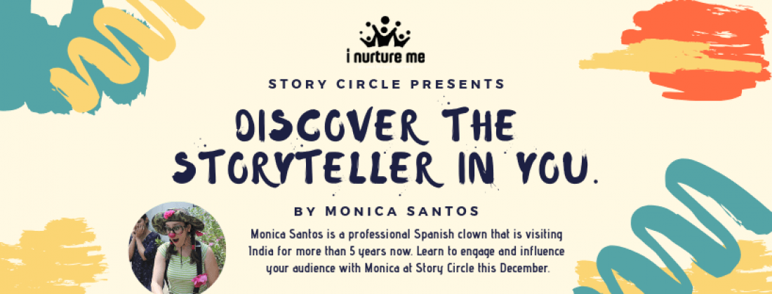 Discover the Storyteller in You_Workshop by Spanish Artist_ M Santos