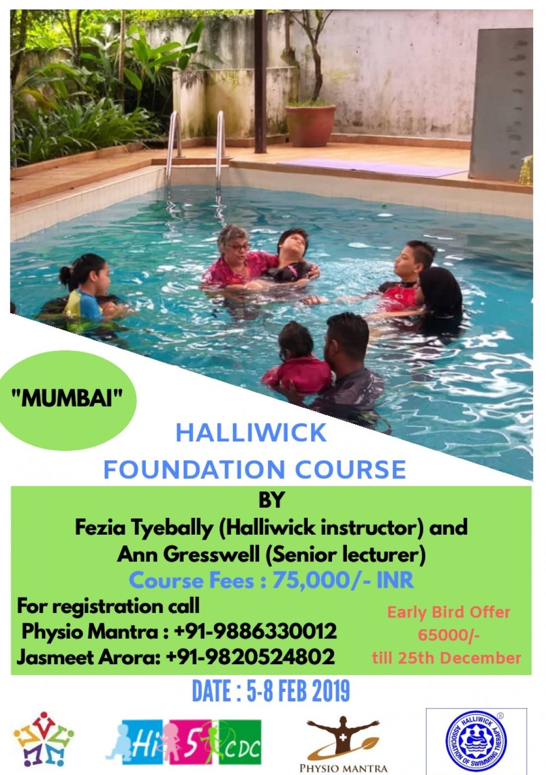 Halliwick Foundation Course in Aquatic Therapy