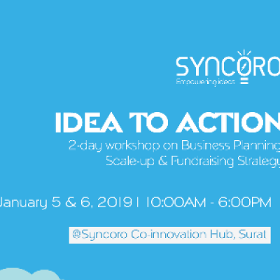 Idea to Action  2-Day Startup Boot Camp