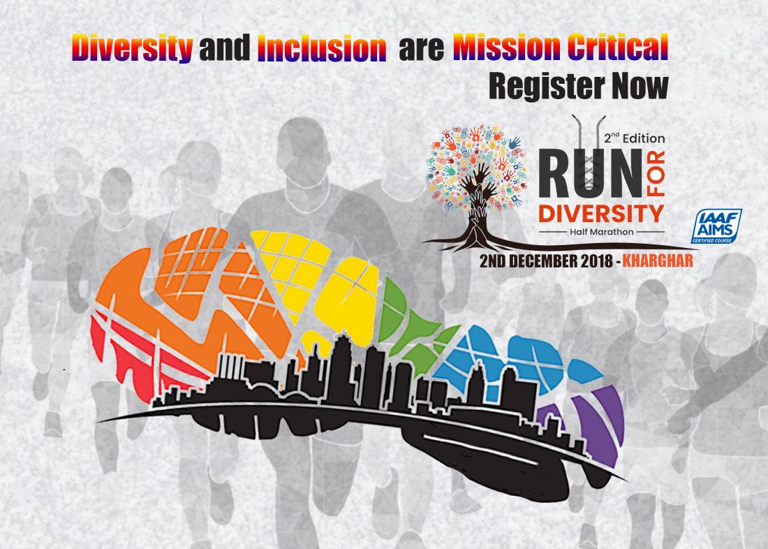 Run for Diversity - Half Marathon - AIMS Certified Route