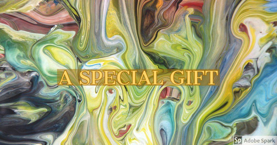 A Special Gift Fluid Paint Workshop