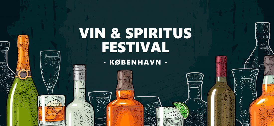 Kbenhavn Vin & Spiritus Festival 2019. Billetforsalg 50 kr.