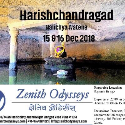 Harishchandragad Nalichya watene