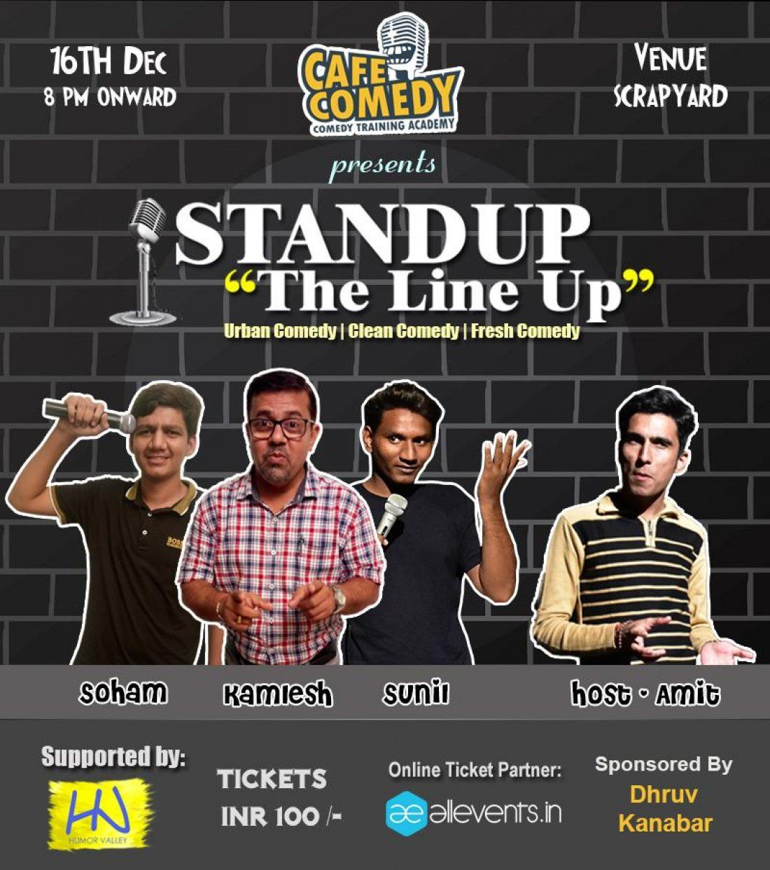 Standup The Lineup - Standup Comedy Show