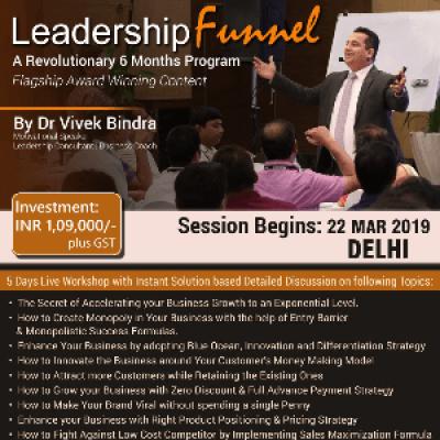 Leadership Funnel By Dr. Vivek Bindra