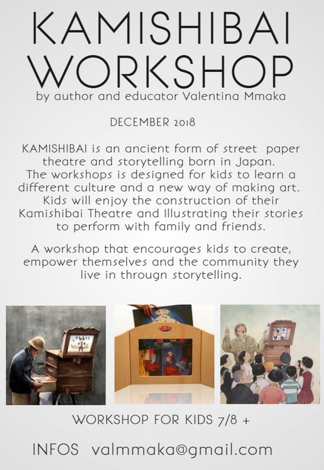 Kamishibai Childrens Workshop