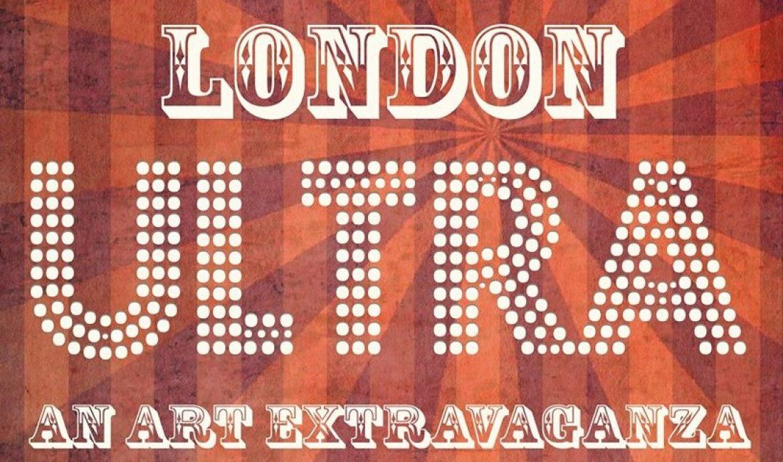 The London Ultra  a 4-day art extravaganza at Bargehouse