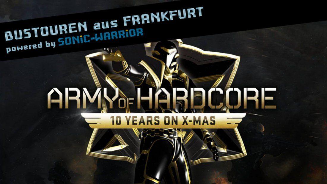 Bus-Tour zur Army of Hardcore 2018 von Frankfurt