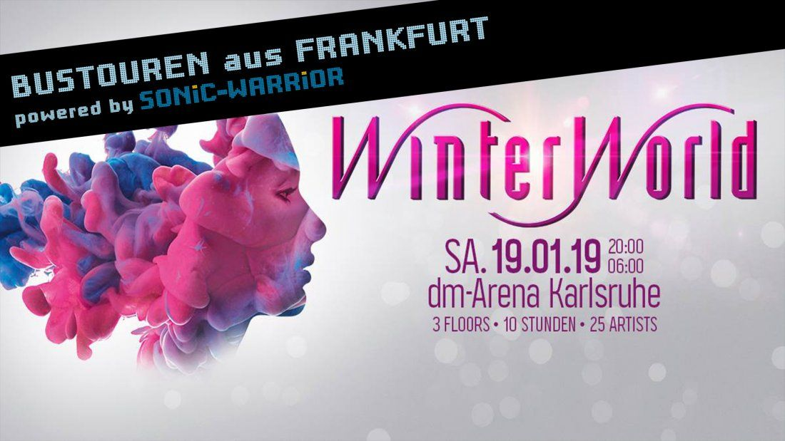 Bus-Tour zur WinterWorld aus Frankfurt
