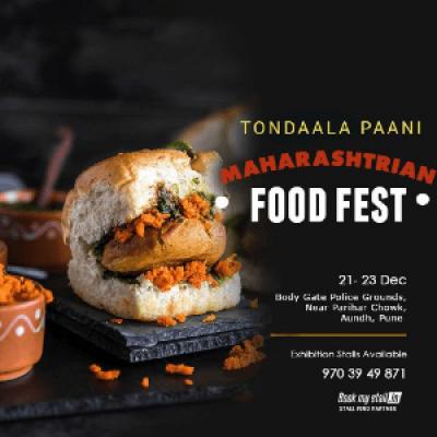 Tondaala Paani - Maharashtrian Food Festival  Pune - BookMyStall