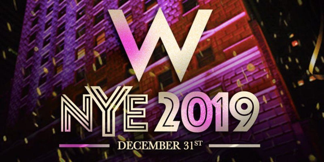 Chicago New Years Eve Party 2019 at The W Chicago Hotel