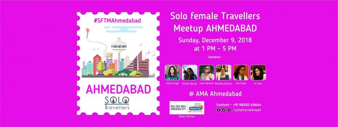 Solo Female Travellers Meetup - Ahmedabad