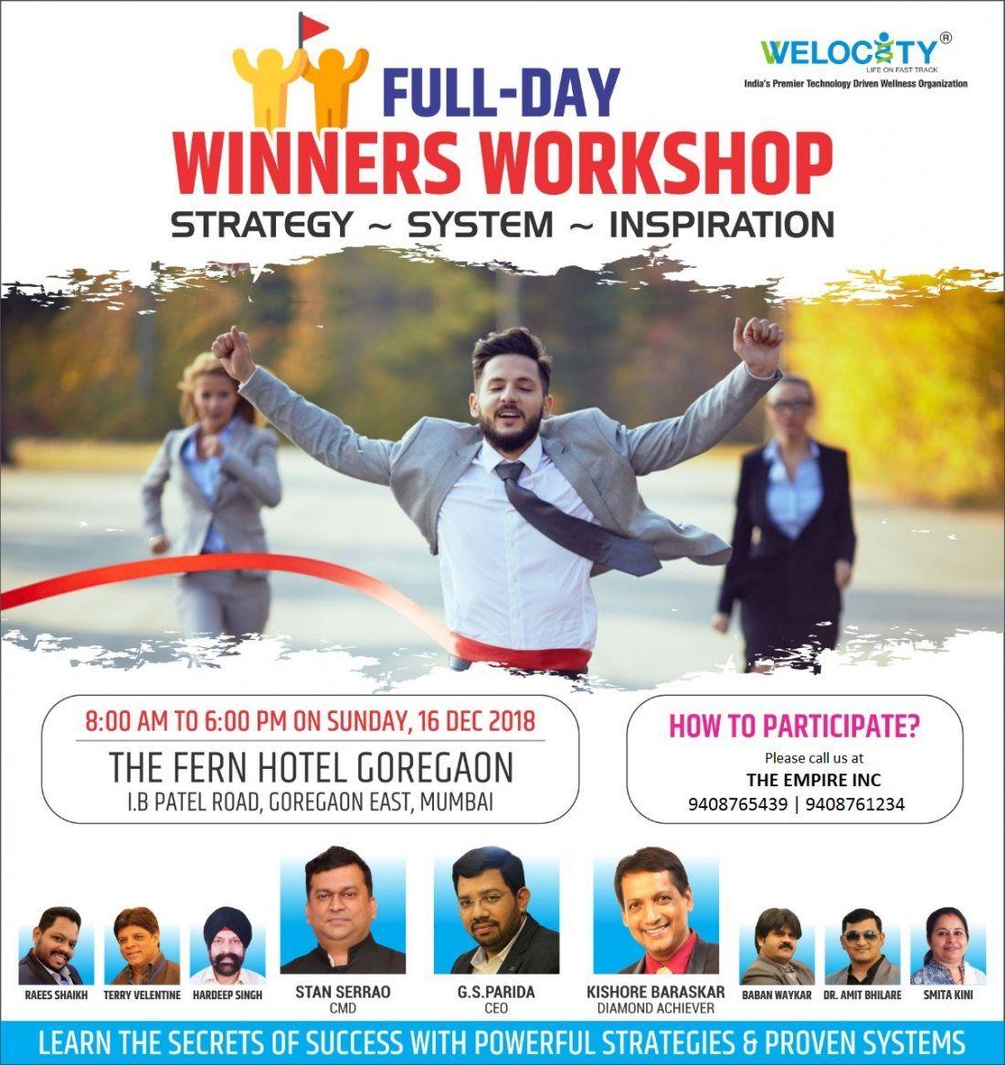 Welocity Winners Workshop