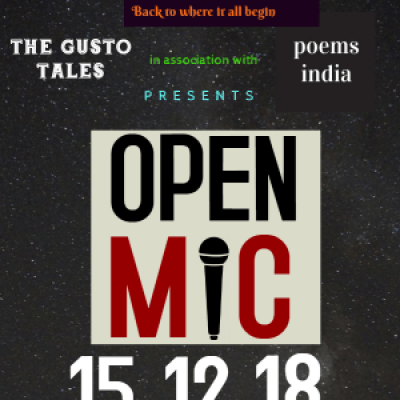 Open Mic Poetry and Story Telling