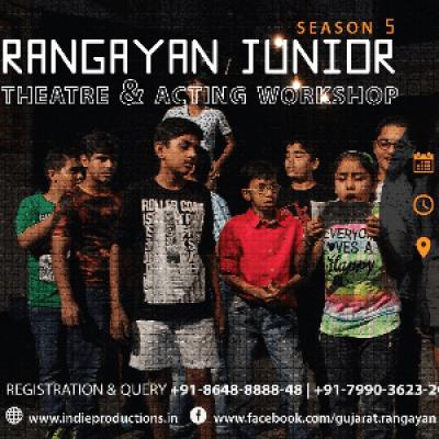 Rangayan Junior - Theatre &amp Acting Workshop for Kids (Season 5)
