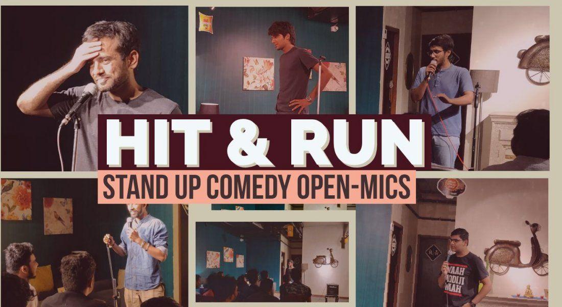 Hit & Run 27.0 - Standup Comedy Open Mic
