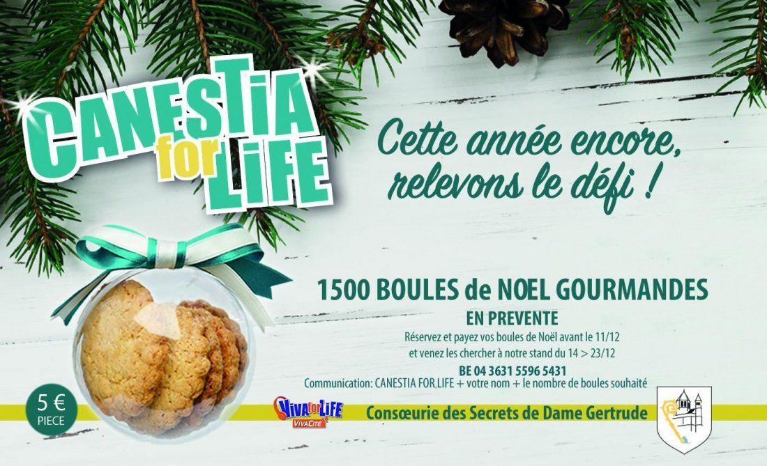 Canestia for Life  Vente de boules gourmandes par la Consoeurie des Secrets de Dame Gertrude