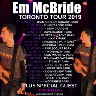 Em McBride Tour 2019