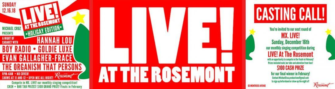 Live At The Rosemont Holigay Edition