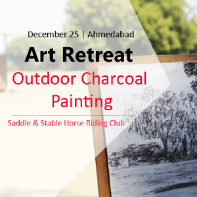 Art Retreat - Outdoor Charcoal Painting