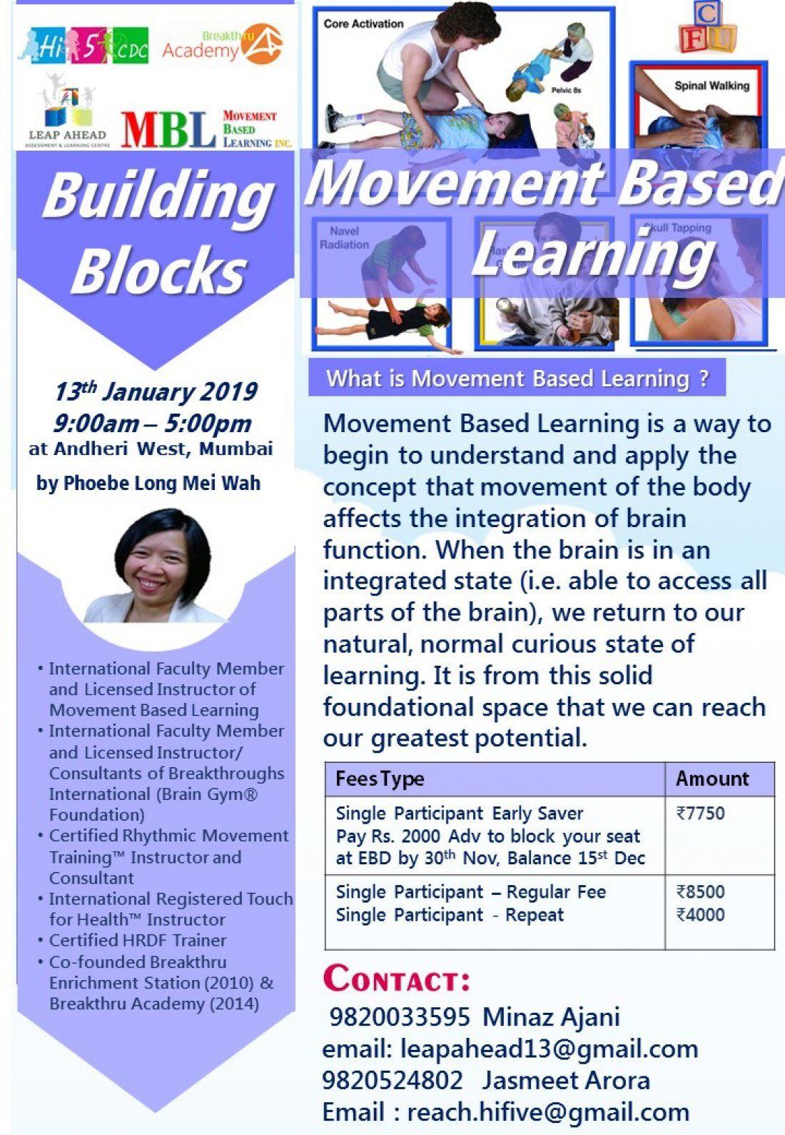 Building Blocks - Movement Based Learning