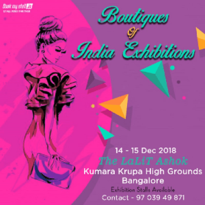 Boutiques Of India Exhibitions Bangalore - BookMyStall