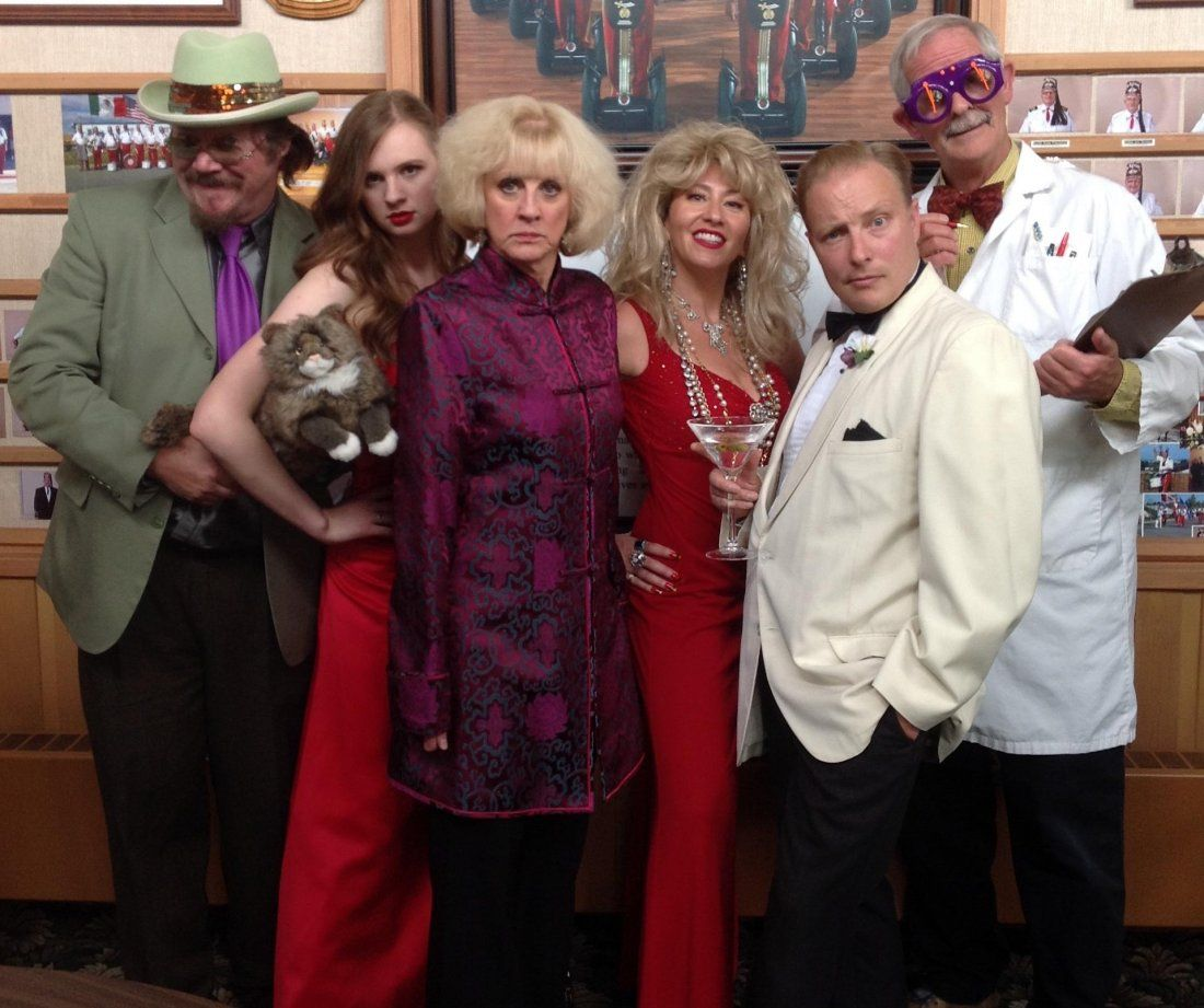 The Spy Who Liked Me Comic Mystery Dinner Theatre