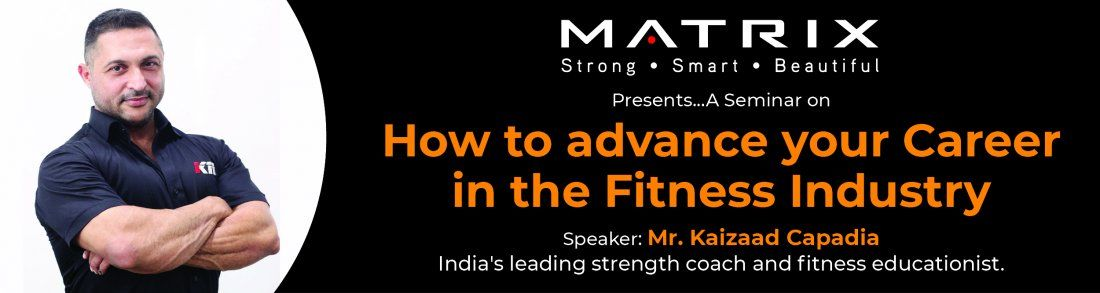 Seminar on How to Advance your Career in the Fitness Industry