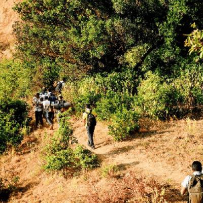 Vasota Trek (Vyaghragad) on 22nd 23rd December 2018