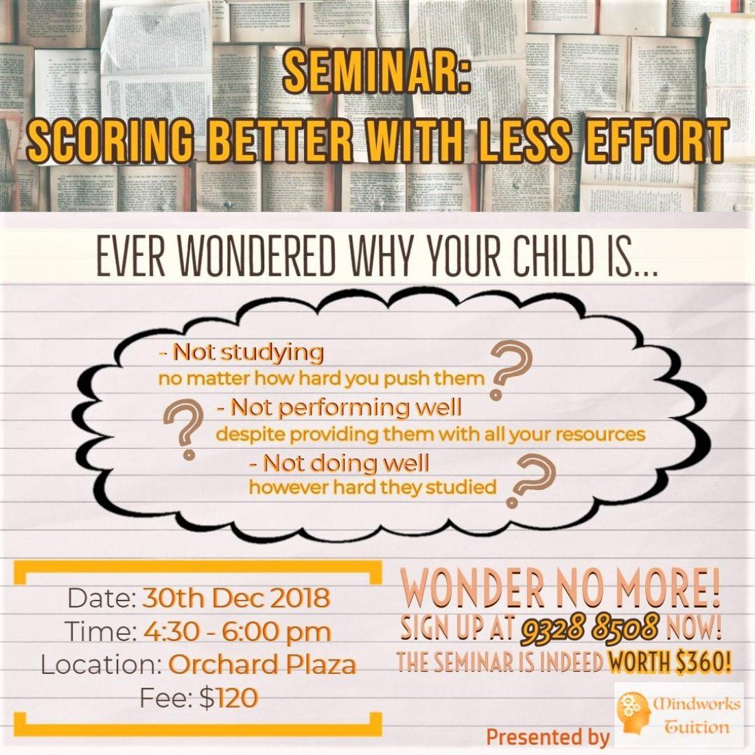 SEMINAR Scoring Better With Less Effort