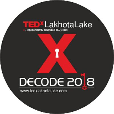 TEDxLakhotaLake 2018 Decode
