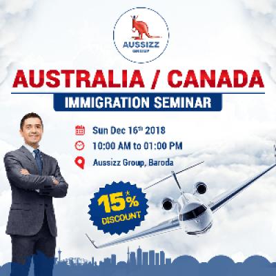 FREE Australia  Canada Immigration Seminar by Aussizz Group