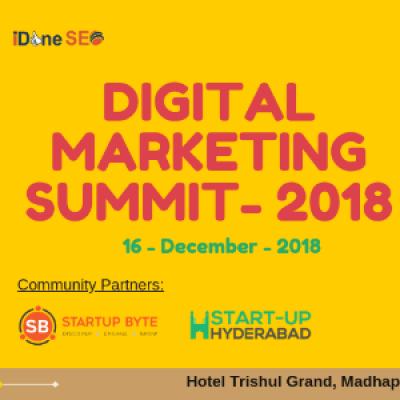 Digital Marketing Summit - 2018
