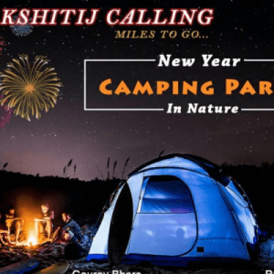 New Year Camping Fest By Kshitij Calling