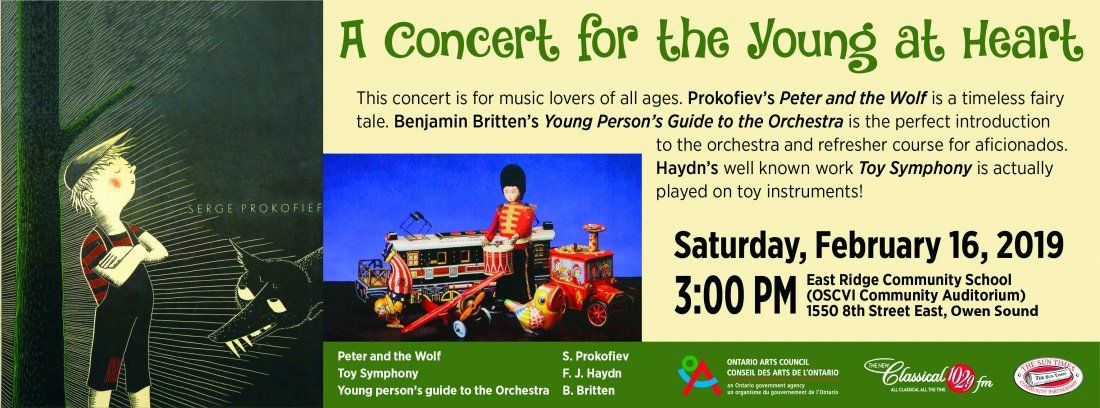 A Concert for the Young at Heart